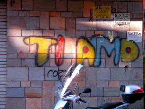 ti amo graffiti